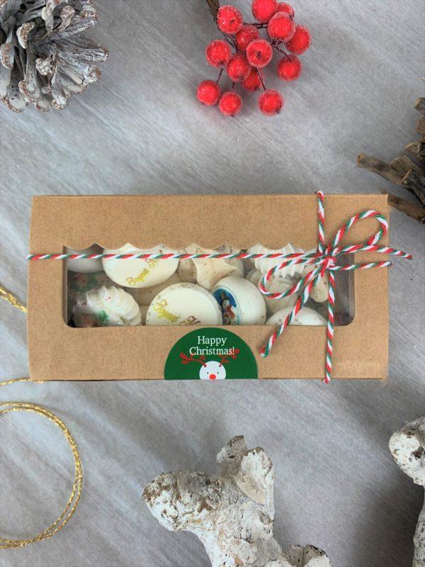 Boîtes de 20 meringues Noël