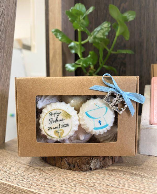 Boîte de 8 meringues Naissance