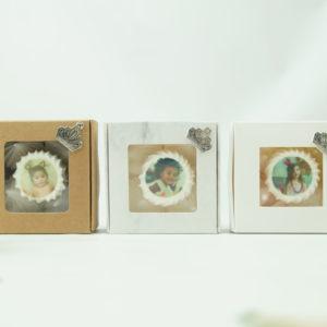 Boîte de 5 meringues couronne